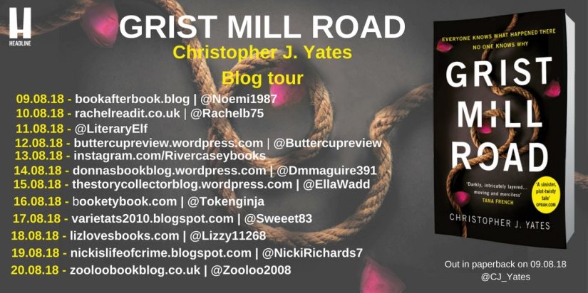 Grist Mill Road Blog Tour Poster