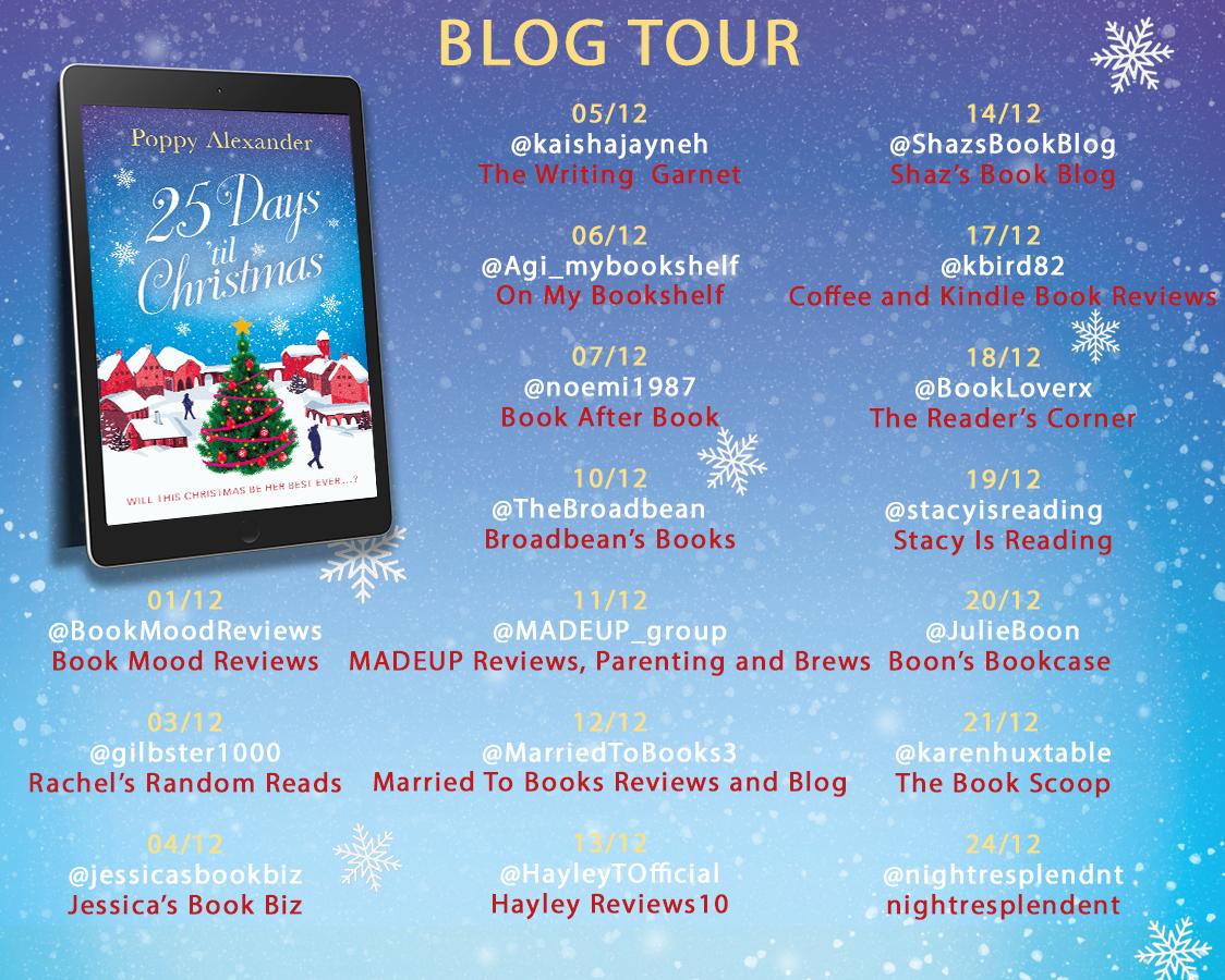 25 Days Blog tour NEW