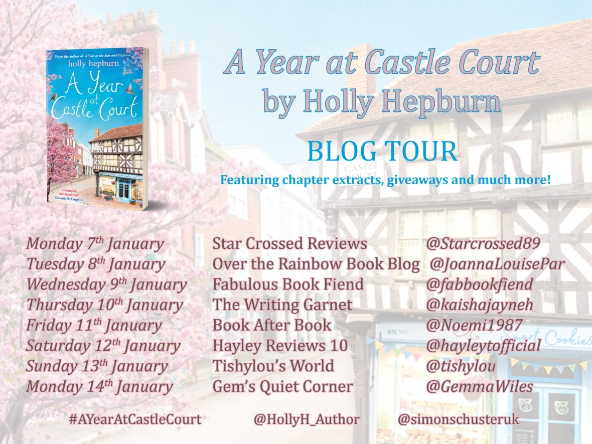 Holly Hepburn Blog Tour Banner