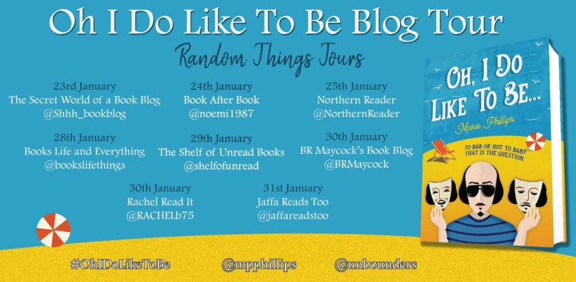 Oh I Do Like To Be Blog Tour Poster