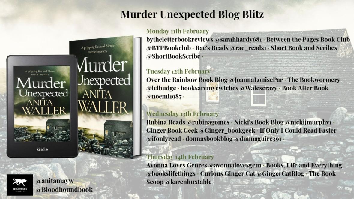 murder unexpected blog blitz banner
