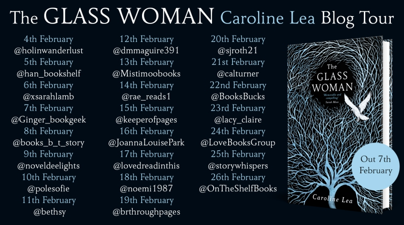 The Glass Woman Blog Tour Banner