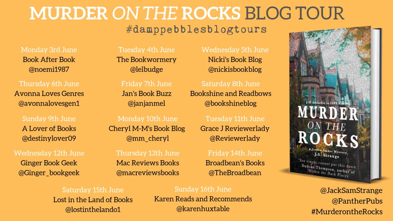 Murder on the Rocks Blog Tour