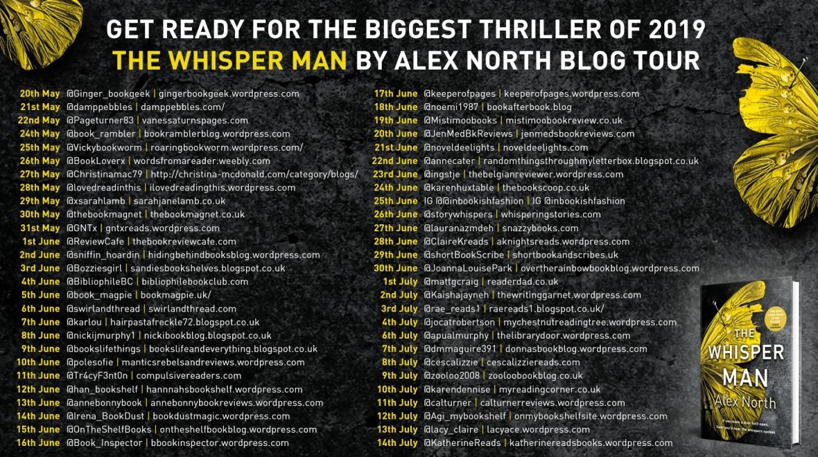 Whisper Man Blog Tour Banner