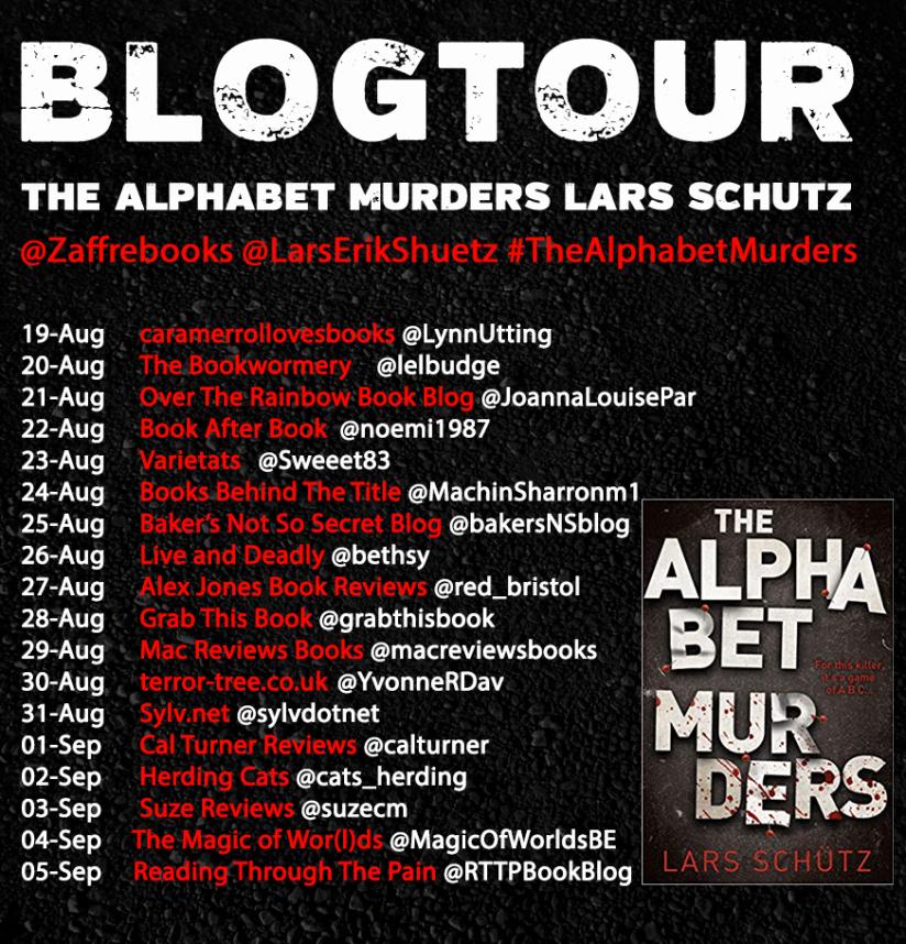 The Alphabet Murders Blog Tour Poster