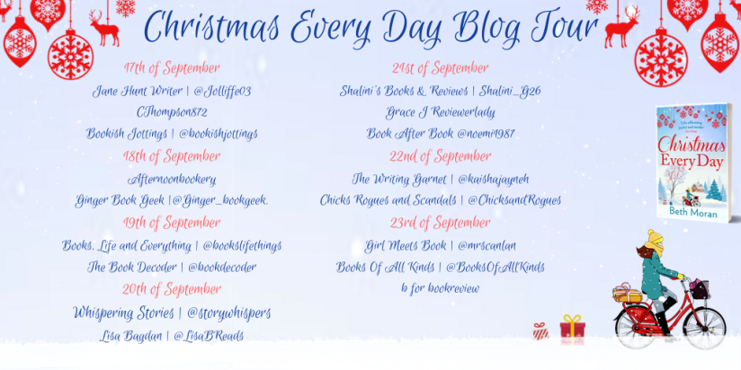 Christmas Every Day Blog Tour Final