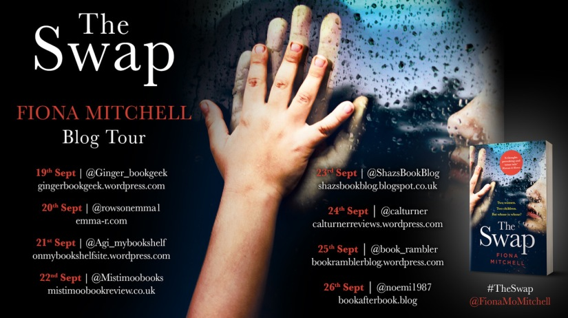 The Swap Blog Tour Card