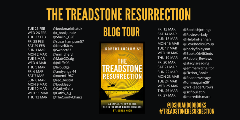 The Treadstone Resurrection Blog Tour