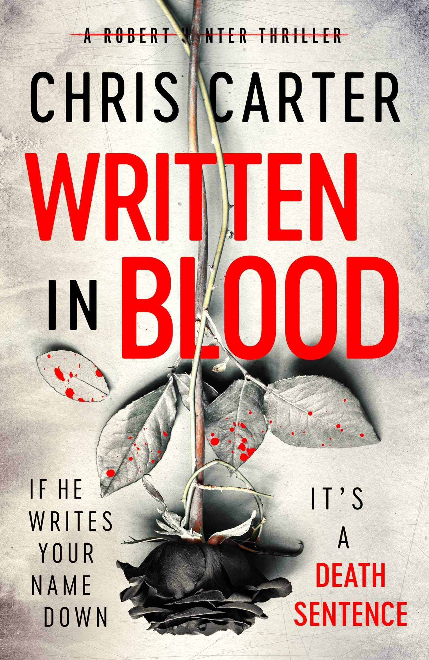 Written In Blood Cover
